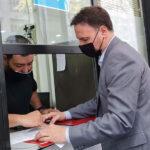 El senador Enrico presentó en Buenos Aires reclamos por el estado de la Ruta 33